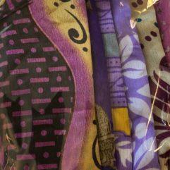 sarisillke sidentyg lila tamme craft
